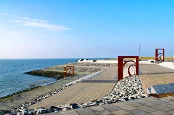 barrierefreie Strand Büsum